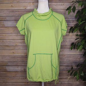 Columbia Short Sleeve Athletic Top Cowl Neck XL